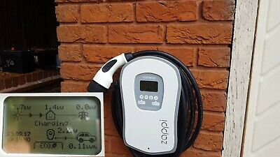 MyEnergi Zappi v1 EV Charger 5m Tethered – Type 1 or 2 cable - 32A 240V