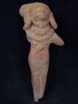 Ancient Large Size Teracotta Mother Goddess Indus Valley 600 BC #TR884