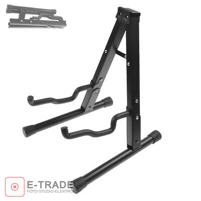 A-Frame Universal Foldable Guitar Stand -Fits all Guitars Acoustic Electric Bass