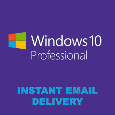Windows 10 Pro licence KEY-INSTANT - 24/7 Support