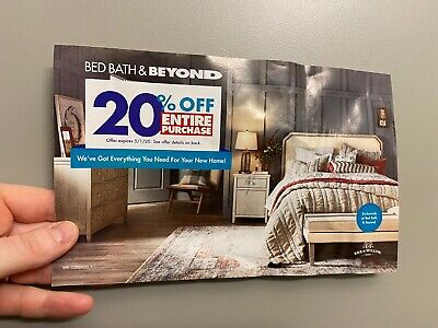 SUPER FAST Email Delivery Bed Bath & Beyond 20% Off ENTIRE Purchase 5/1/2020