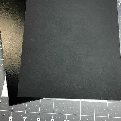 2 Sheets Black 8 x 12 x .080 Thick Kydex T Holster Sheath Making Material