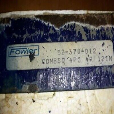 Fowler 72-370-012 Square Combination