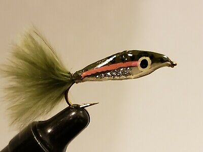 epoxy minow brook trout mouches pêche #6 wet fly fishing flies