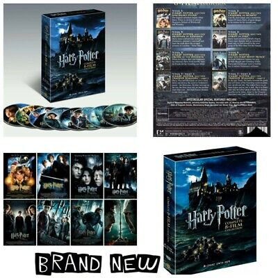 🎬Harry Potter: Complete 8-Film Collection DVD 📀 8-Disc Set {Brand New}🎬
