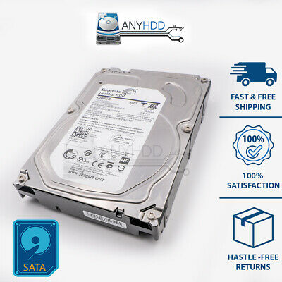 "Dell / Seagate St4000Dm000 0V3Ft3 4Tb Sata 3.5"" 64Mb 6Gb/S Hard Drive - New Bulk"