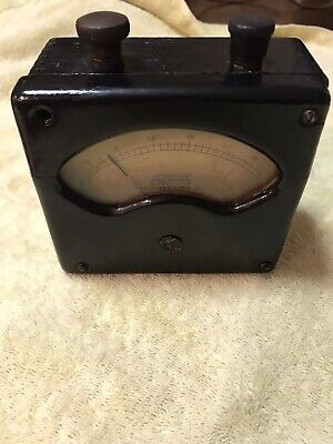 Vintage American Bureau Of Engineering ,Inc 1918 Voltmeter (As-Is)For Parts Only