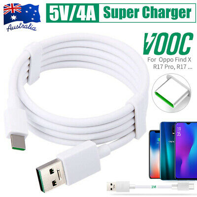 Genuine USB Type-C Fast Charging Charger Adapter Cable VOOC Cord For OPPO Reno Z