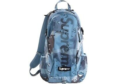 Supreme Arctic Blue Camo Backpack SS20 Spring Season 20 100% Authentic
