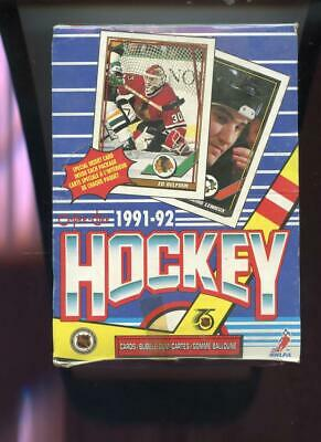 1991-92 O-Pee-Chee Hockey Card Set Wax Pack Box Wayne Gretzky 1992 OPC OPeeChee