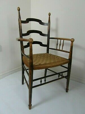 Antique Arts & crafts chair in the manner of William Birch / Liberty
