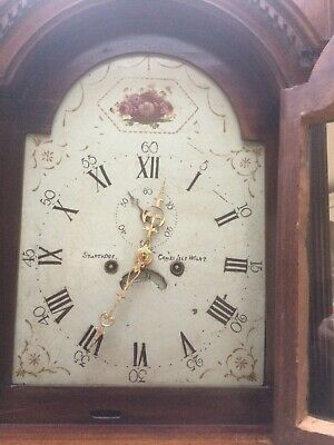 grandfather clock 8 Day