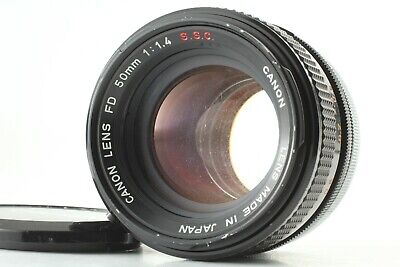 Canon FD 50mm f/1.4 S.S.C SSC MF Prime Lens for FD Mount from Japan #229