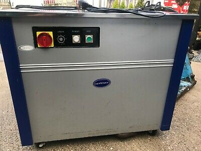 Optimax TMS 300 Heavy Duty Pallet Strapping Machine TMS300, Spares Or repair