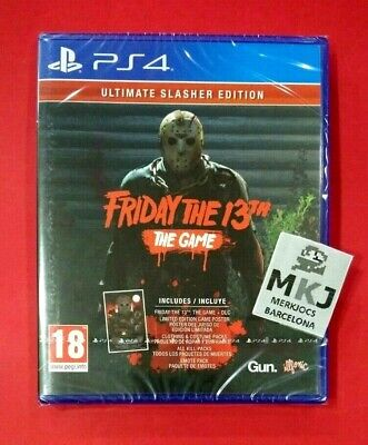 Friday The 13th The Game Ultimate Slasher Edition - PLAYSTATION 4 - PS4 - NUEVO