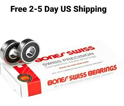 ACER Racing 627 Ceramic Inline Skate Bearings 8 Piece 7x22x7mm Si3N4 for 7mm Axles