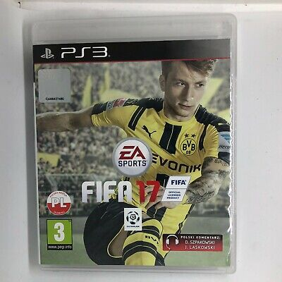 FIFA 17 PlayStation 3 PS3 ~3+ Football Game - BRAND NEW & SEALED Euro Import