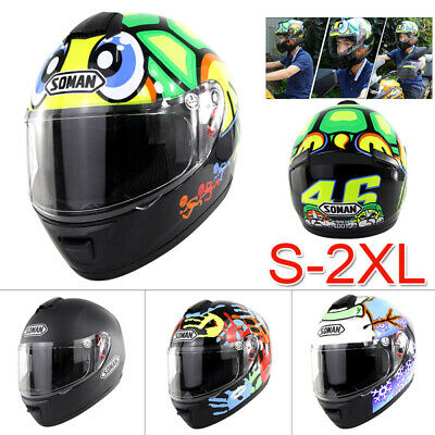 Full Face Cycling Motorcycle Sport Helmet Motocross Riding Bike DOT Safety New