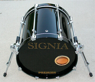 Premier SIGNIA Drum Head Logo Decal colours for the UK various colors