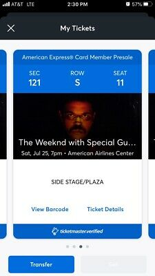 The Weeknd Tickets With Special Guest Don Tolliver And Sabrina Claudio(2 Tickets