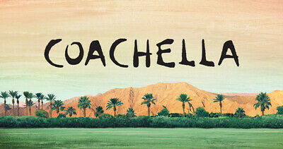 2 Two Coachella Weekend 1 General Admission Wristband Passes April 10 w/ Shuttle