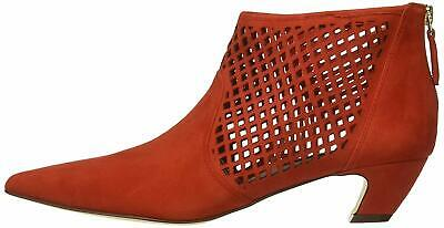 Nine West Womens Yovactis Pointed Toe Ankle Fashion Boots, Red, Size 8.0 PYkD