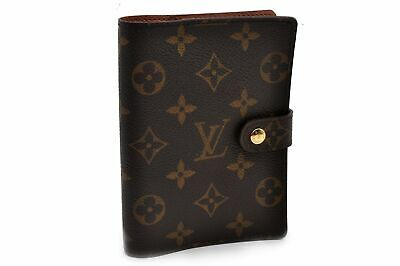 Authentic Louis Vuitton Monogram Agenda PM Day Planner Cover R20005 LV 92298