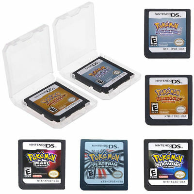 Soul Silver / HeartGold Pokemon Version for Nintendo 3DS NDSI NDS Game Card