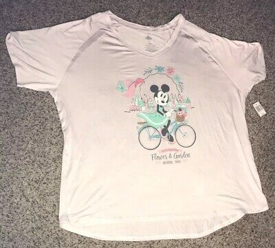 2020 EPCOT Flower And Garden Festival Minnie Mouse T-Shirt M L XL XXL NEW