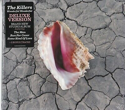 THE KILLERS - Wonderful Wonderful (Deluxe version w/bonus tracks / New & sealed)