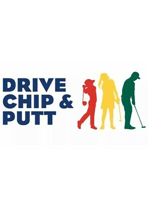 2020 Drive Chip & Putt Championship Ticket Masters Augusta National Sunday 4/5