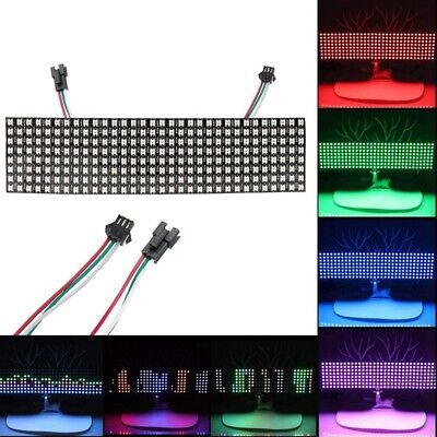 LED Matrix Panel, WS2812B RGB 832 Pixels Digital Flexible Dot Matrix Indivi I2J6