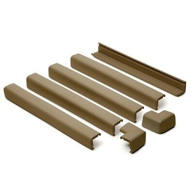 Prince Lionheart Fireplace Guard With 2 Corners (chocolate) - Cushiony