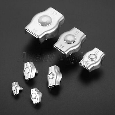 Wire Rope Simplex Clip Grips Cable Clamps Caliper 2mm-10mm Hardware Tool Replace
