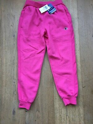 Champion Pink Trek Suit Bottoms New With Tag Size Small Kids - Age 10 To 11