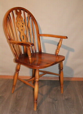 original Windsor-Wheelback Landhaus Chair um 1950