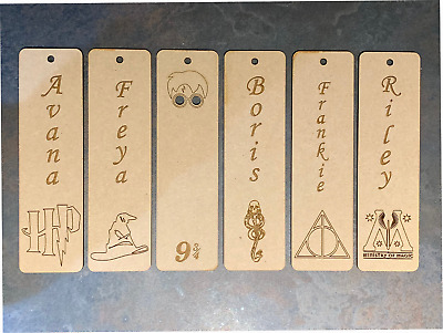 Harry Potter Bookmark Book Box Personalised Name Gift Birthday Christmas