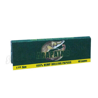 """/""""Ice Cream Time/"""" HEMP Rolling Papers 78*44mm 5 Booklets=200 leaves smoking"""