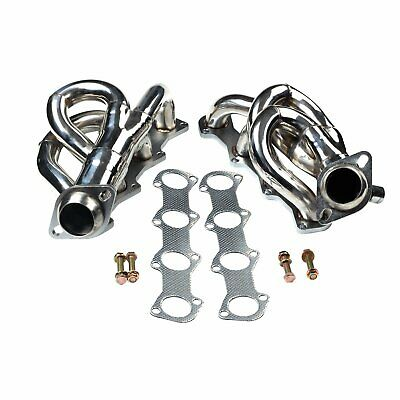 FOR 97-03 FORD F150//LOBO PICKUP 4.2 V6 STAINLESS EXHAUST MANIFOLD HEADER+GASKET