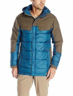 Legion Blue Medium Merrell Mens Hexcentric Hooded Puffer