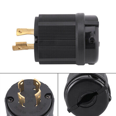 NEMA L14 30P 30A 125V-250V 4 Wire Twist Lock Electrical Generator Plug Connector
