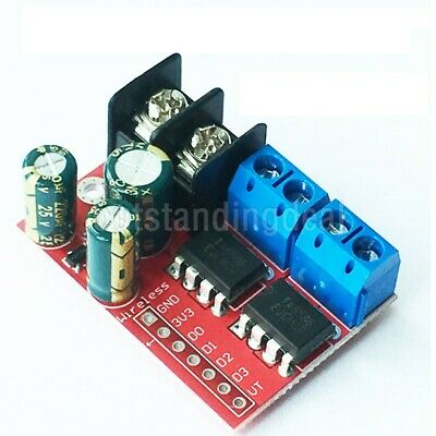 5A 2-Ch DC Motor Driver Module CW CCW PWM Speed Control of Relay Light Strip sz