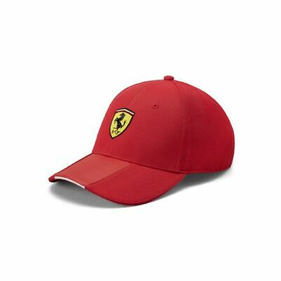 Scuderia Ferrari F1 Official Adults Carbon Strip Cap - Red - 2019/20