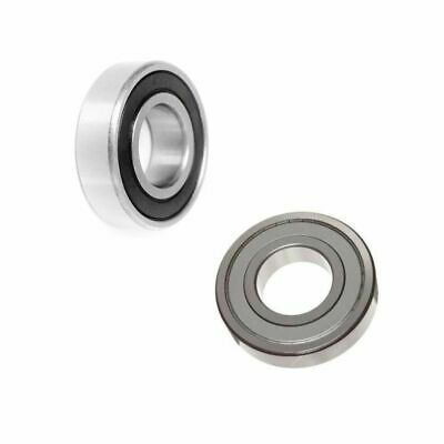 Miniature Model Small Ball Bearings Deep Groove Rubber / Metal Sealed 2Rs / Zz