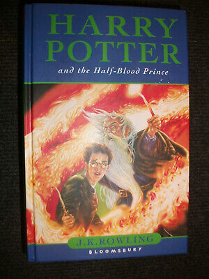 Harry Potter and the Half-Blood Prince / gebundene englische Erstauflage