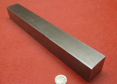 """Square 1018 Steel Bar, 1 1/2"""" Thick x 1 1/2"""" Wide x 12"""" Length"""