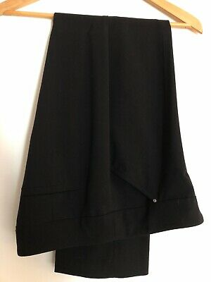 Dress Barn Roz & Ali 6P Secret Agent Tummy Control Brand New Black Pants