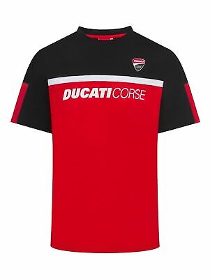 Duacti Corse 2017 Short Sleeve T-Shirt Red