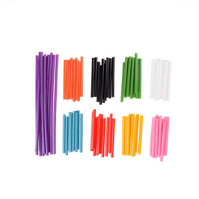 10Pcs Colorful Hot Melt Glue Sticks For Heat Glue Gun High Viscosity Adhesive MT