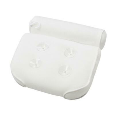 Bath Spa Pillow Relaxing Massage with 4 Big suction Cups for Bathtub Hot Tub yxs